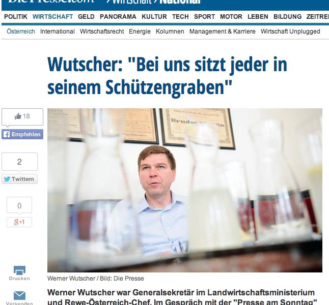 Screenshot Presse